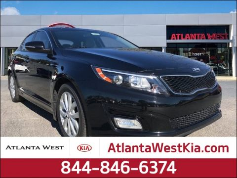 Certified Pre-Owned 2015 Kia Optima EX FWD 4D Sedan