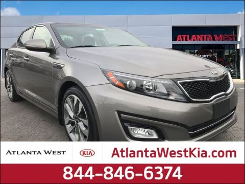 Certified Pre-Owned 2015 Kia Optima SX FWD 4D Sedan