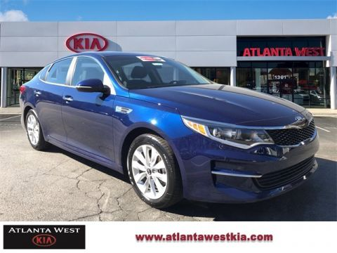 Certified Pre-Owned 2017 Kia Optima LX FWD 4D Sedan