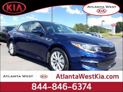 Certified Pre-Owned 2018 Kia Optima LX